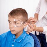 child doing neurofeedback