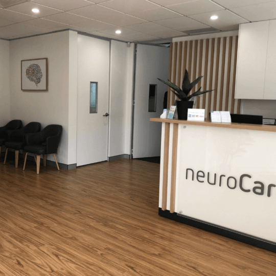 neurocare frenchsforest reception area