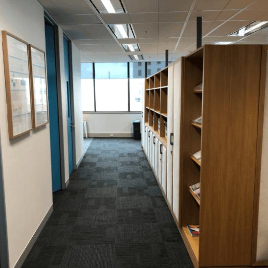 neurocare sydney hallway